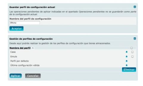 Crea un nuevo perfil de configuración en tu router Movistar