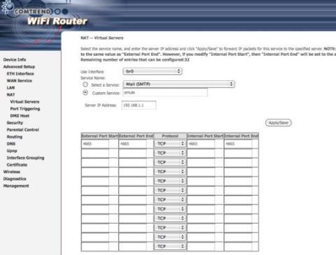Abre los puertos manualmente en tu router Movistar