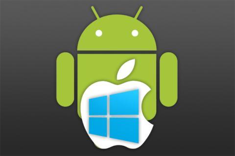 iOS, OS X superarán a Windows en 2015. Android los supera ya