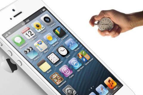 iPhone 5: el más lento de los smartphones de primera línea