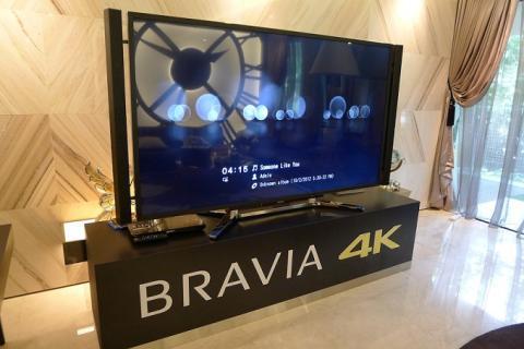 Sony comienza a vender sus televisiones 4K