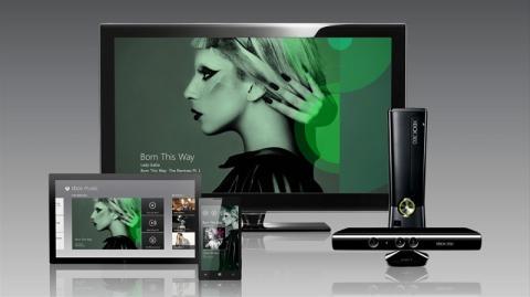 Xbox music ahora en versión web