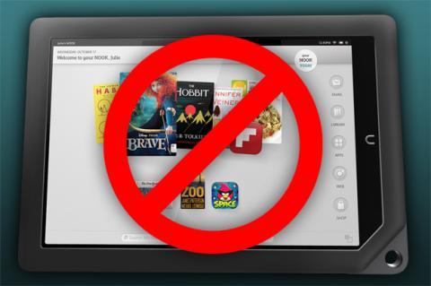Barnes & Noble abandona el negocio de las tablets.