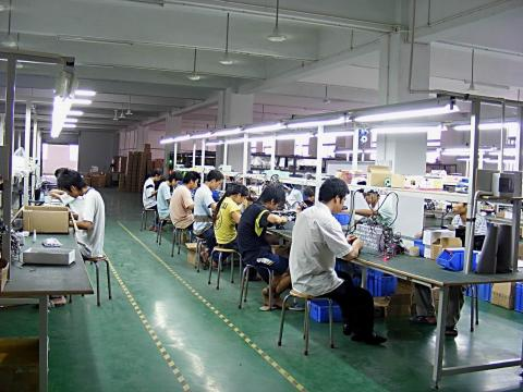 smartphone factory