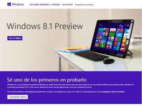 Windows 8 Preview ya disponible para descargar