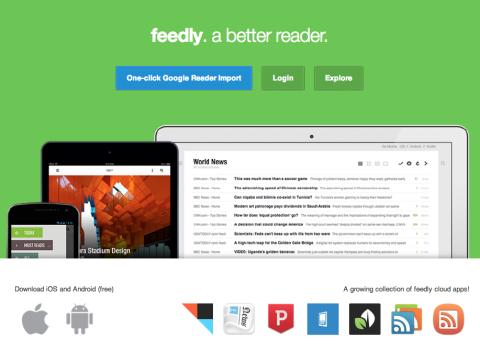Importa tus feeds de Google Reader a Feedly