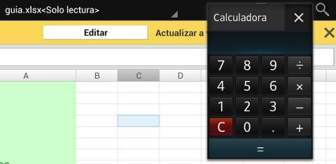 Lanza la mini calculadora para hacer cuentas en cualquier app