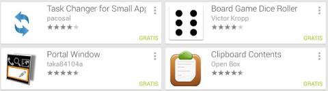 En Google Play hay cada vez más small apps disponibles