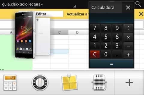 Descubre las Small Apps de los Xperia Android.