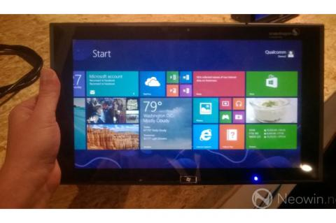 Una tablet en BUILD, no del todo disponible