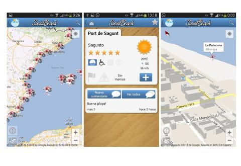 SocialBeach, app sobre el estado de las playas