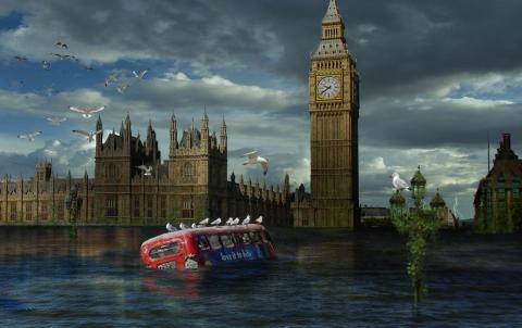 Fin del mundo. Londres Inundada