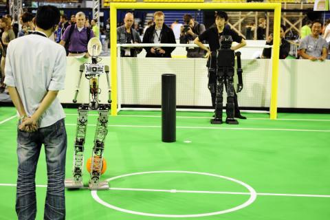 RoboCup 2013. Competición mundial de robots
