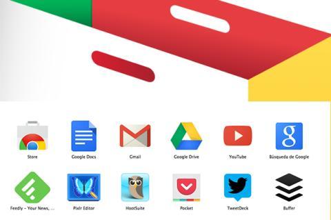 extensiones, plugins y aplicaciones de Google Chrome