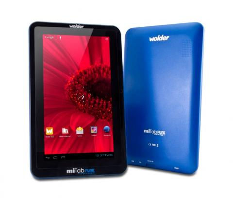 Wolder miTab FUNK, tableta española a tan solo 79 euros