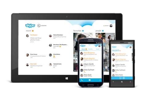Skype 4.0 rediseñada para dispositivos Android