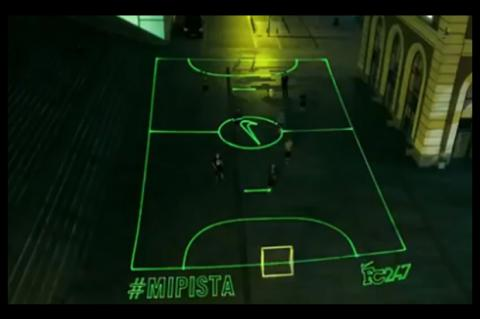 Nike Mi Pista campo futbol laser