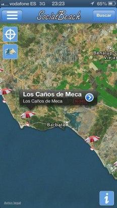 Busca tu playa en el mapa en Social Beach