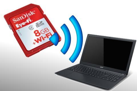 Transfiere tus fotos automáticamente desde la cámara mediante Wifi gracias a las tarjetas Eye-Fi