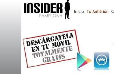 Descarga Insider Pamplona