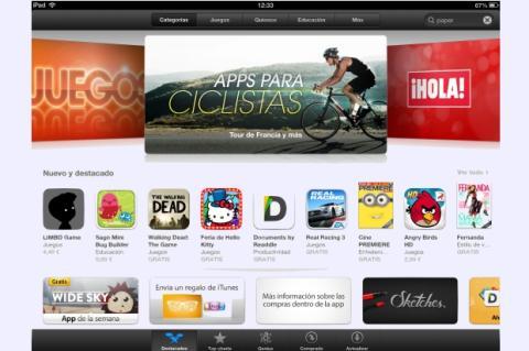 App Store. Descargas necesarias para entrar en el Top 10