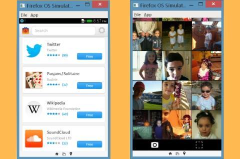 Firefox OS Emulator 4.0
