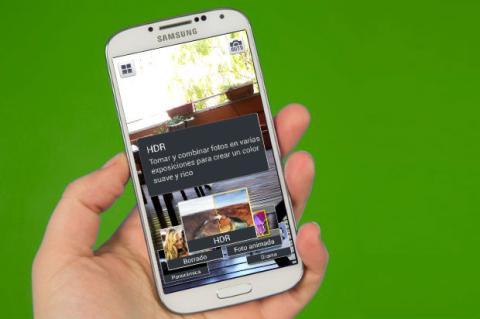 Configurar la cámara del Galaxy S4