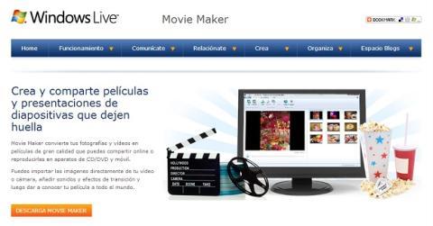 Descarga Windows Live Movie Maker