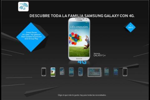 Samsung presenta sus smartphones y tablets 4G en España