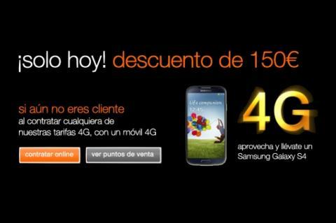 Orange estrena la telefonía 4G