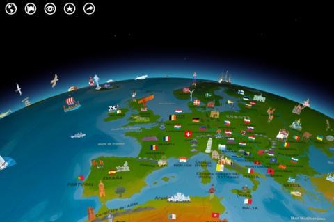 Barefoot Atlas, toca para interactuar