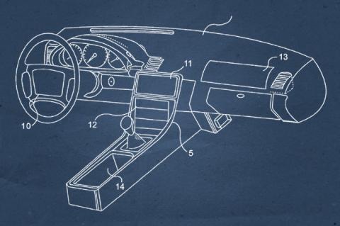 Apple patenta un rediseño para el interior de los coches