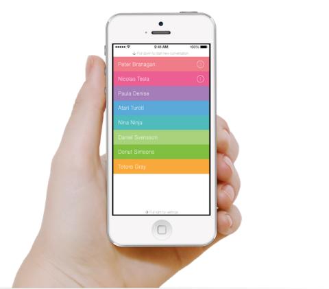 La nueva app de mensajes ultrasecreta