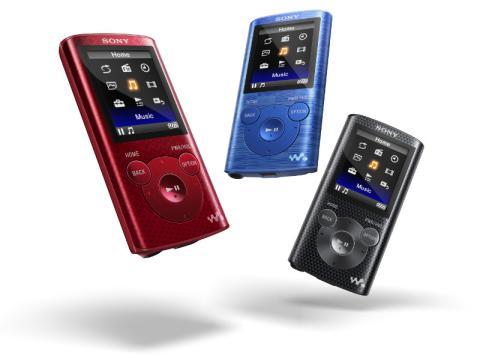 Sony presenta su nueva gama de reproductores de música E-series