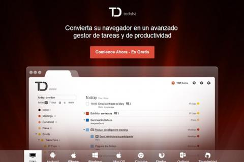 Aprende a usar la versión gratuita de Todoist para ser más productivo en el trabajo y en casa