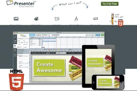 Presenter: presentaciones en HTML 5