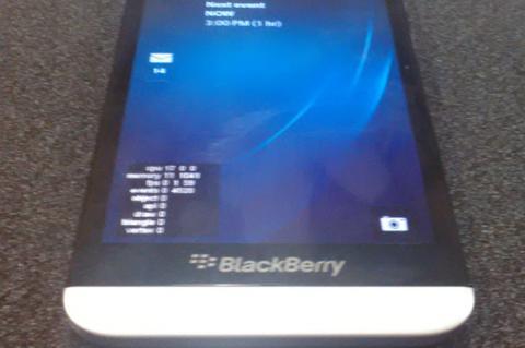 BlackBerry A10: ¡Nuevos detalles y primera fotografía!