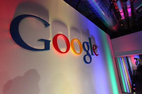 Logo de Google, por Robert Scoble