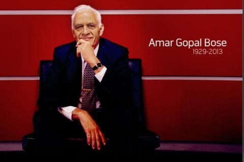Fallece Amar Bose