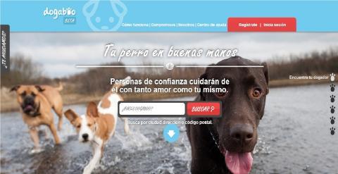 Dogaboo.com, cuida de tu perro a distancia en vacaciones