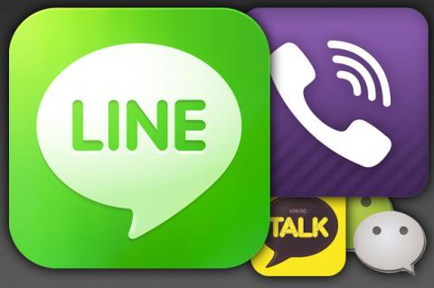 LINE vs. Viber vs. WeChat vs... ¡es la guerra por el mundo!