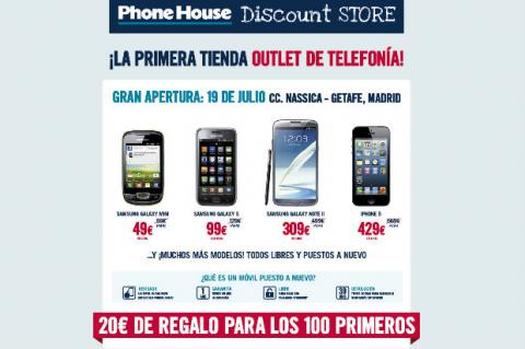 El outlet de The Phone House ya disponible en España