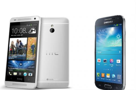 HTC ONE Mini vs Samsung Galaxy S4 Mini