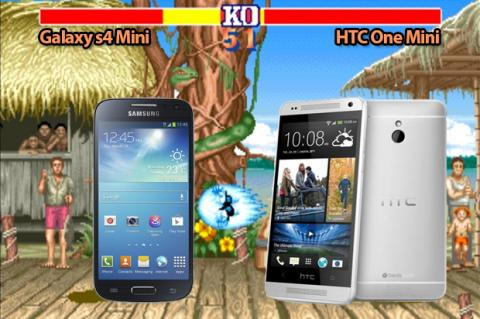 Comparativa: HTC One Mini vs Samsung Galaxy S4 Mini
