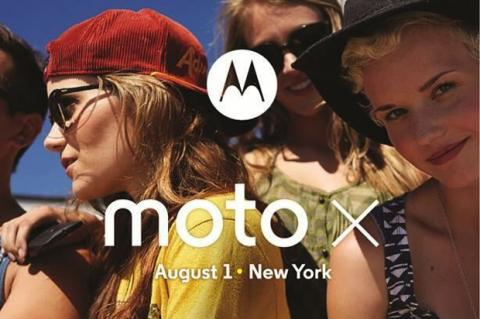 Motorola invita al lanzamiento del Moto X, el 1 de Agosto
