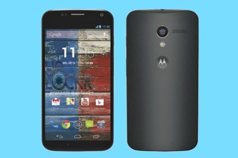 Primera imagen oficial del smartphone Motorola Moto X