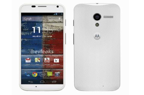 Moto X, nuevo smartphone de Motorola/Google