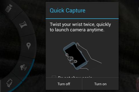¿Quieres ver la interfaz de la cámara del Motorola Moto X?