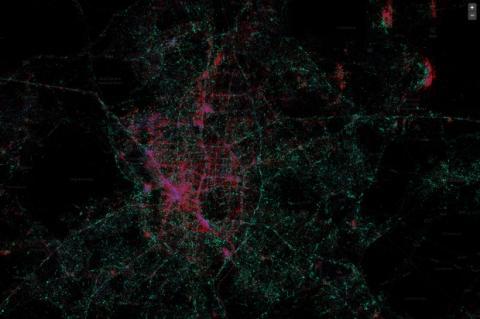 MapBox: el mapa de Tweets
