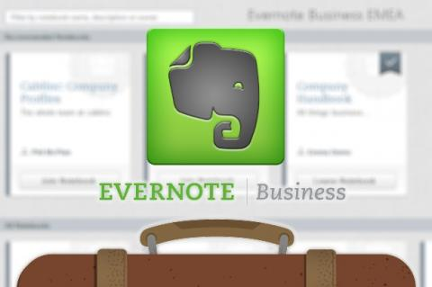Conoce las cuentas Business de Evernote, diseñadas especialmente para la empresa